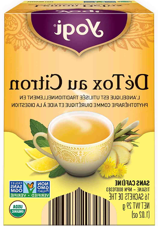 Est-ce que le thé détox fait maigrir ?